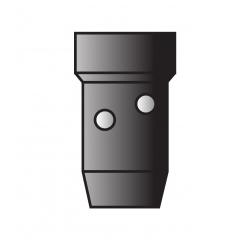 DIFFUSEUR GAZ NOIR MB500
